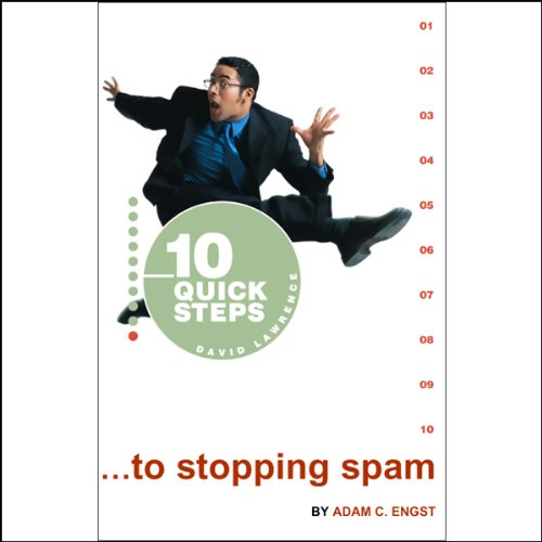 10 Quick Steps to Stopping Spam audiobook cover art