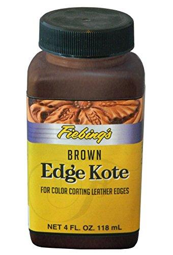 Fiebing's Edge Kote, 4 Oz. - Los Bordes de Cuero en Color Coats - Brown