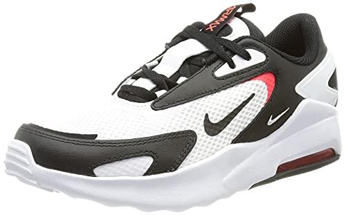 Nike Air MAX Bolt BG, Zapatillas Deportivas, Blanco Black BRT Crimson, 40 EU