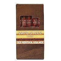 VAPE STEEZ NON-NICOTINE E-CIGAR 使い捨て電子タバコ 吸引回数500回 5本セット (M Ice Blast)