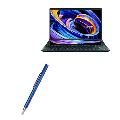 Caneta Stylus BoxWave para ASUS ZenBook Pro Duo 15 (UX582) [FineTouch capacitive Stylus] Caneta Stylus super precisa para ASUS ZenBook Pro Duo 15 (UX582) - Azul lunar