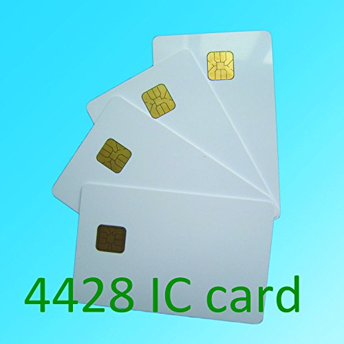 Learn More About KingGo 100pcs white PVC card with SLE4428 chip contact smart card hotel key card IS...