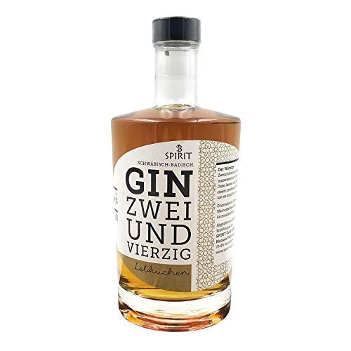 Gin 42 - Lebkuchen 0,5 l 44 {f5bdc644d9997ef7bc7cd4d7a66b7e079eff0257f107608c3b9b84aba6ae1035} Vol. - Regionaler Und Handgefertigter Gin Mit Hochwertigen Gewürzen | Perfekt Im Winter