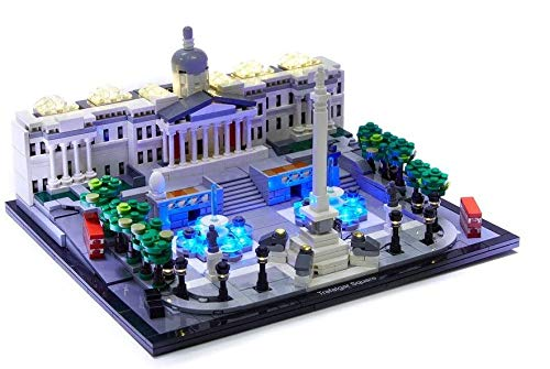 Brick Loot Deluxe LED Lighting Kit for Your Lego Architecture Trafalgar Square 21045 - Lego Set NOT Included