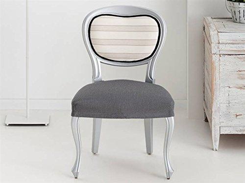 LaNovenaNube sedia Ulisse Pack-Custodia 2, colore: grigio Moderno Pack 6 ecru