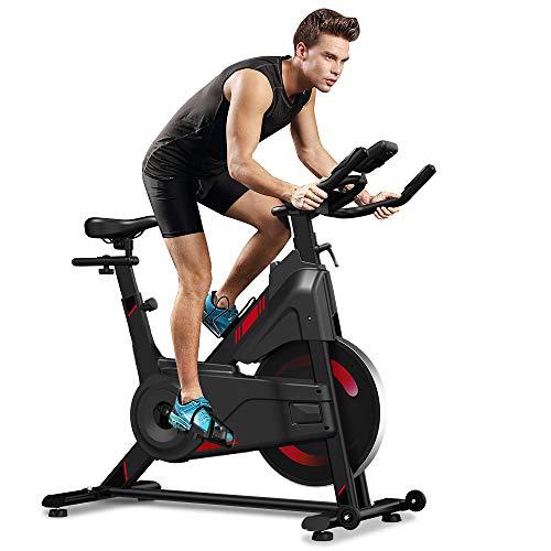Yoleo Indoor Cycling Magnetic Resistance Exercise Bike (2021 Upgraded New...