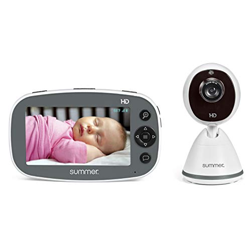"""Summer Infant Pure HD 4.5"""" High Definition Color Video Baby Monitor (36203)"""