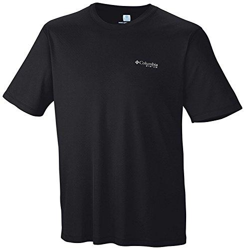 Columbia PFG Zero Rules S/S T-Shirt, Black, Small