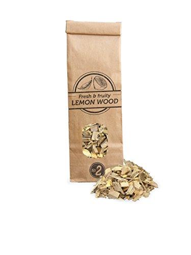 Smokey Olive Wood Sow-412 citroenhoutspaan, geel/grijs