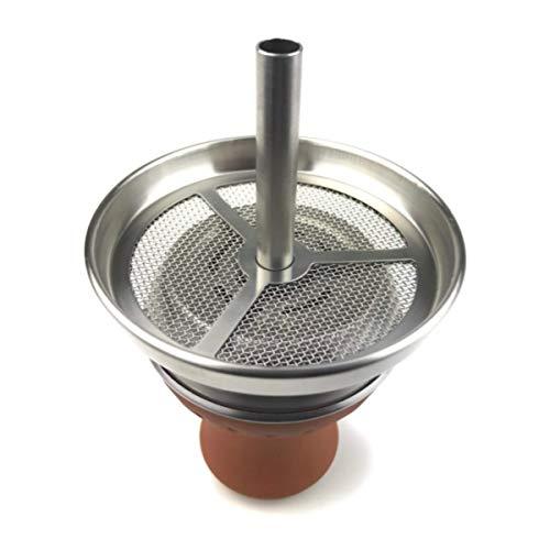 Enoe Shisha testa braciere per narghile incl. camino testa set. Hookah Bowl Shisha Tabacco Bowl tabacchi narghile