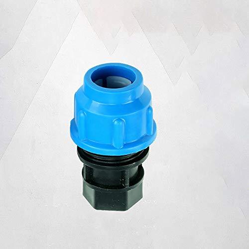BE-TOOL - Racor de compresión de agua para tuberías de agua MDPE hembra (pupler 20 mm-1/2 pulgadas BSP hembra)