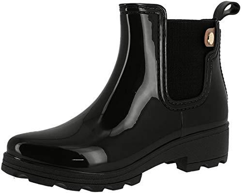 Gioseppo Damen 30410 Aqua Schuhe Schwarz (Black) 39 EU