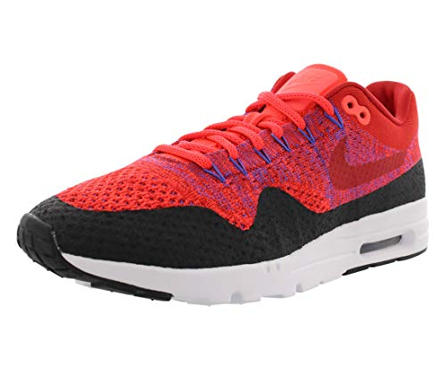 Nike Women's Wmns Air Max 1 Ultra Flyknit, UNIVERSITY RED/UNIVERSITY RED, 8.5 US