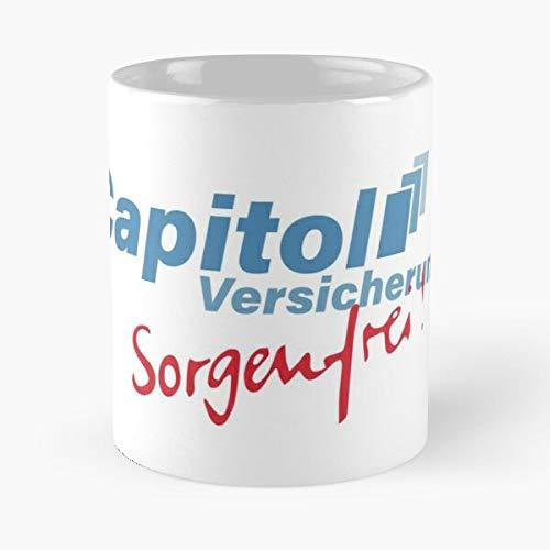 Awesomdeals Capitol Stromberg Sorgenfrei Versicherung Best 11 oz Kaffeebecher - Nespresso Tassen Kaffee Motive