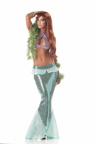 Zeemeermin uit de oceaan Kostuum voor vrouw