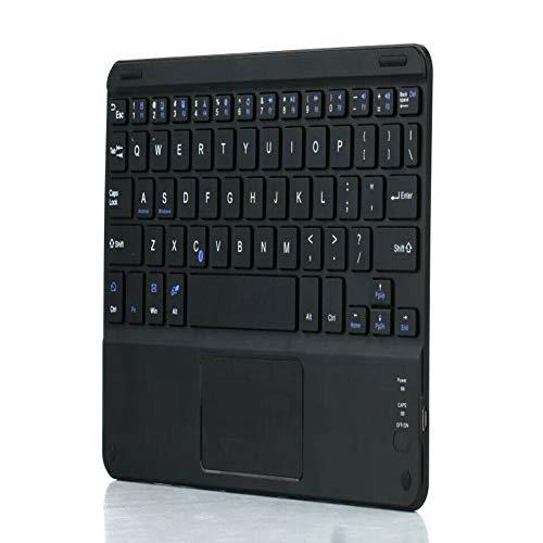 "KK Zachary Drahtlose Tastatur, 7""Touchpad Bluetooth-Tastatur für Android Windows-Tablet mit Touchpad (Color : Black)"
