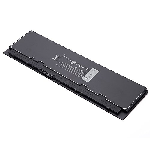 K KYUER High Capacity 7.4V 52WH VFV59 WD52H Laptop Battery Replacement for Dell Latitude 12 7000 E7240 E7250 Ultrabook Notebook GVD76 F3G33 HJ8KP W57CV 9C26T J31N7 NCVF0 451-BBFX 451-BBFW