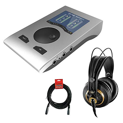 RME Babyface Pro 24-Kanal Audio-Interface mit AKG K 240 Studio Pro Kopfhörer & XLR-Kabel Bundle