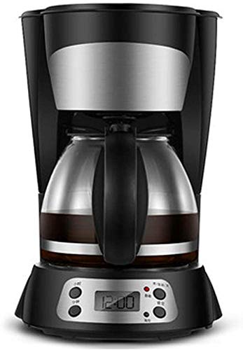 kaige Kaffeemaschine Startseite Kleine Automatische amerikanischen Tropf Kaffeekanne Kaffee/Tee-Dual-Use, 24-Stunden-Reservierung, Kaffee Paket WKY