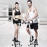 Fitness Stepper, Armés ajustable Escalador vertical,...