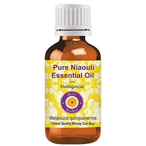 Huile essentielle pure de Niaouli de Deve Herbes (Melaleuca quinquenervia) 100% normale de qualité thérapeutique distillée à la vapeur 100ml Pack of Two (6,76 oz)