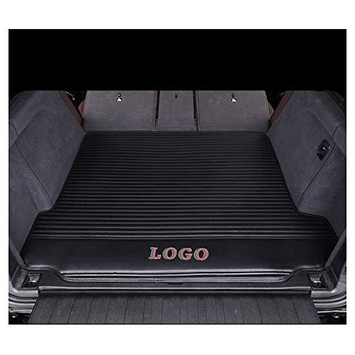 LUVCARPB Alfombrillas Interiores para Maletero, aptas para Audi A1 A2 A3 A4 A6 Q3 Q5 Q7 A8 A5 A7 R8 TT, Accesorios Impermeables para alfombras de Coche