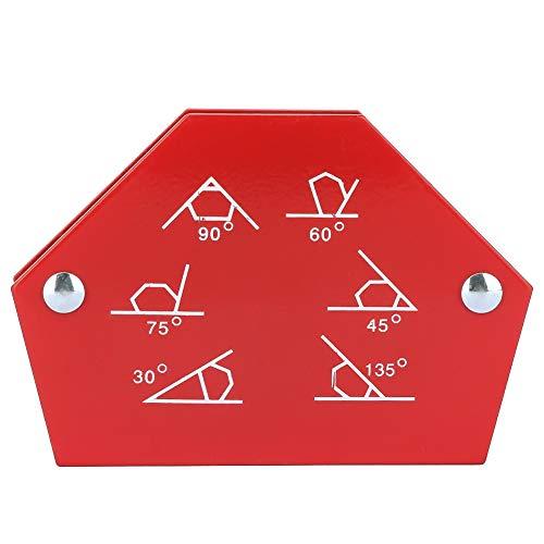 Durlclth Soporte de soldadura-1Pcs Multi-ángulo de Seis Lados Soporte magnético de Soldadura Flechas Herramienta de fijación de Soldador magnético(25LBS)