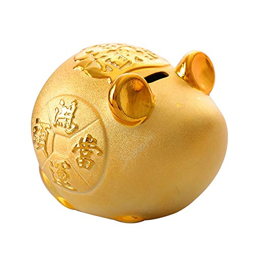 PowerBH Home Desktop Piggy Bank hucha resina irrompible