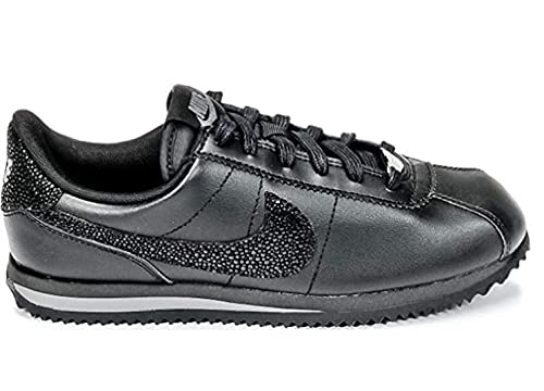 Nike Cortez Pelle Nera/Glitter