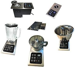 Built-in Blender 4 in 1: 1000 Watts, Hidden Below Counter Top; Multi-Functional, Universal: Glass Blender + Mini-Chopper + 4Qt Mixer + Pasta Maker-Meat Grinder-(also replaces NuTone Food Center 251)