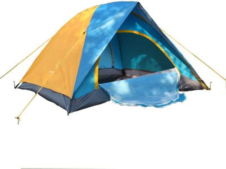 d8cebb676c41 4 People Double Double Door Outdoor Tent Camping Tourism Leisure ...