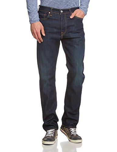 Levi's 513 Slim Straight Fit Pantolon, Blu (Biology), 30W / 34L Uomo