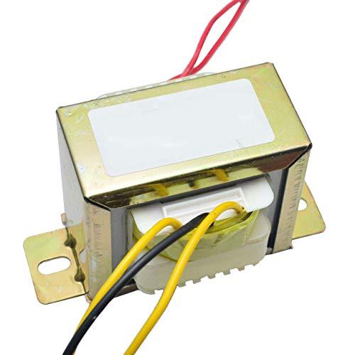 Transformador EI Cuadrado de CA Doble de 18 V y 50 W para Preamplifer 2.1 Tablero de Tonos de Amplificador Utilice el Transformador de Potencia de 220 V LM1875 (Dorado) ESjasnyfall