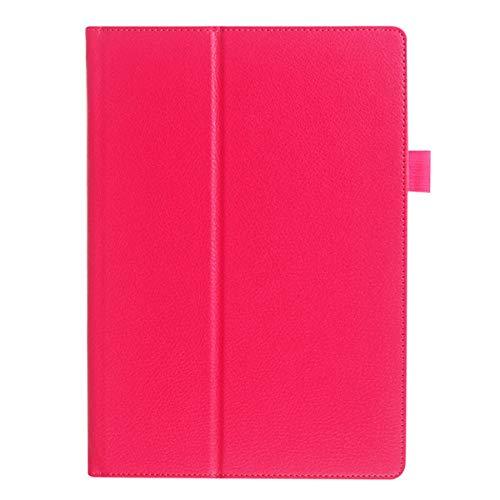 Asus Memo Pad FHD 10 Hülle aus PU-Leder Ständerhülle für Asus Memo Pad ME301T ME302 ME302C ME302KL 10.1 Tablet-rosarot