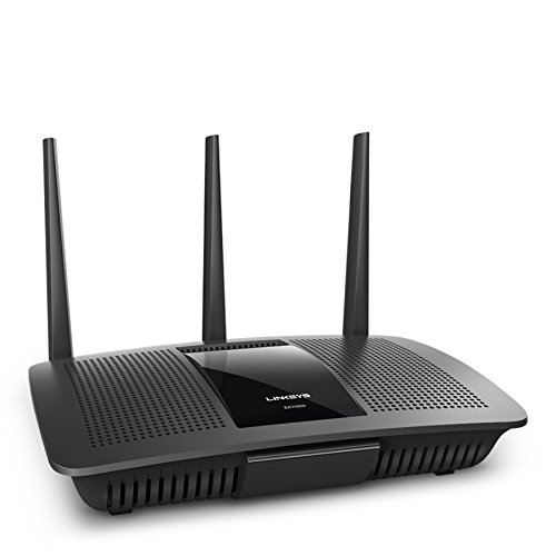 Linksys MAX-STREAM AC1900 Dual-Band MU-MIMO Smart Wi-Fi Gigabit Router, Qualcomm IPQ 1.4GHz Dual Core Processor, Ideal for 4K TV (EA7500)