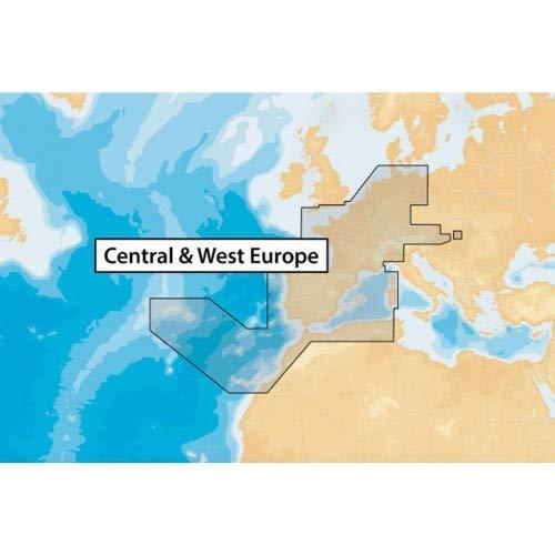 Navionics+ Seekarte (Large/XL9) Medium SD/microSD-Karte, Abdeckungsbereich 46XG - Zentral & Westeuropa