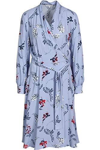 Second Female Damen Kleid Utopia mit Blütenprint blau L