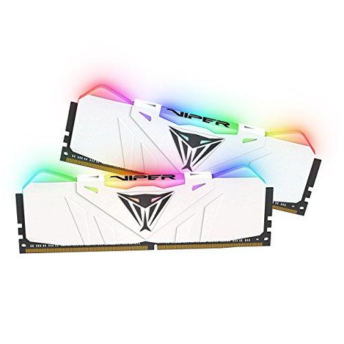 Patriot Viper Gaming RGB Series DDR4 DRAM 3000MHz 16GB Kit - White - RGB Color Profiles