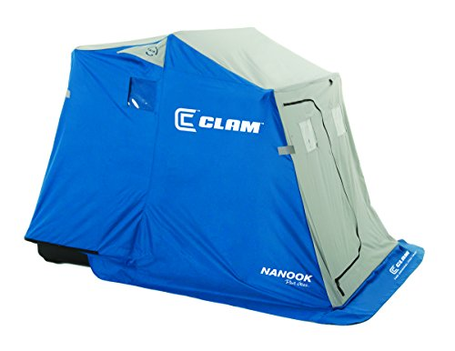 Clam 9714 Nanook 2-Person Ice Fishing Shelter with Padded Seats