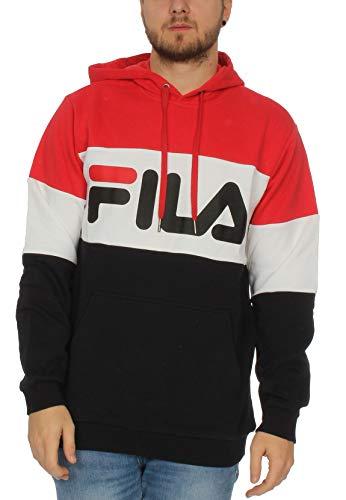 FILA. Felpa bloked Hoody 687001 A089