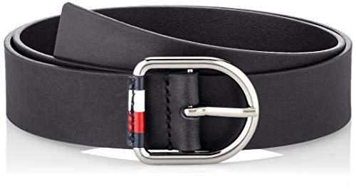 Tommy Hilfiger Damen Corporate Belt 3.5 Gürtel, Schwarz (Black Bds), XX-Klein (Herstellergröße: 75)