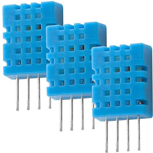 AZDelivery 3 x DHT11 Sensore di Temperatura e Umidità compatibile con Arduino e Raspberry Pi incluso un E-Book!