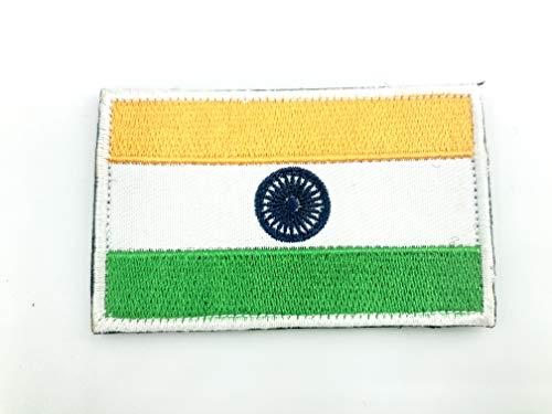 India Indische Vlag Tactische Geborduurde Airsoft Paintball Cosplay patch