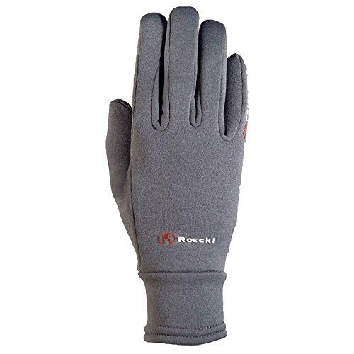 Roeckl Sports Winter Handschuh Warwick Unisex Reithandschuh, Anthrazit, 6,5