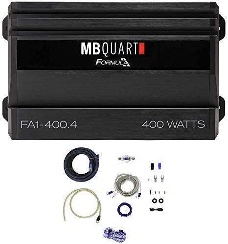 MB QUART FA1-400.4 400 Watt 4 Channel Car Audio Amplifier Class A/B+Amp Kit