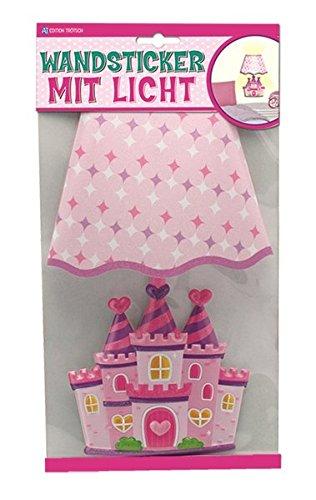 Trötsch Wandsticker mit Licht Prinzessinnen Schloss
