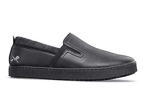 Shoes for Crews M39082-47/12 FLOYD NOIR, Baskets antidérapantes pour hommes, Taille 47, Noir