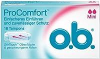 O.b. Mini Tampon 16pcs. by O.b. Pro Comfort Tampon Mini 16 Pcs.