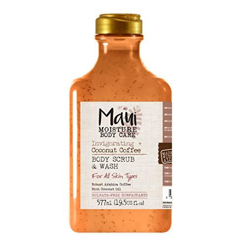 Maui Moisture Belebendes Kokosnuss-Kaffee-Peeling und Duschgel, 577 ml