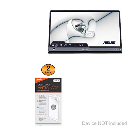 Find Discount ASUS ZenScreen Touch MB16AMT Screen Protector, BoxWave [ClearTouch Anti-Glare (2-Pack)...